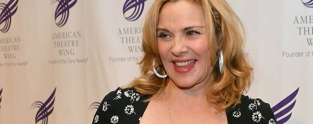"Kim Cattrall bei der ""Theatre Wing's Annual""-Gala in New York"