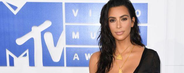 Kim Kardashian bei den 2016 MTV Video Music Awards in New York