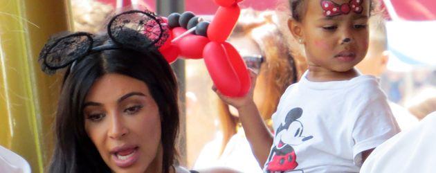 Kim Kardashian und North West