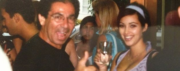Robert Kardashian Sr. und Kim Kardashian