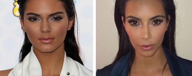 Kim Kardashian und Kendall Jenner