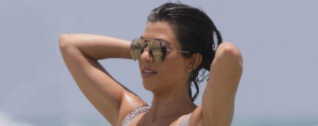 Kourtney Kardashian in Miami