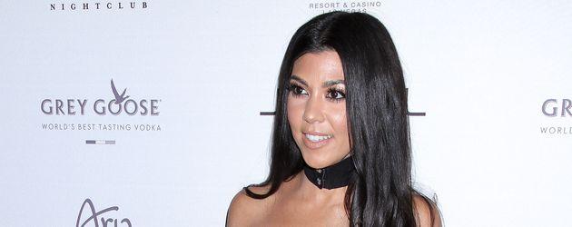 Kourtney Kardashian, die Älteste der Kardashian-Schwestern