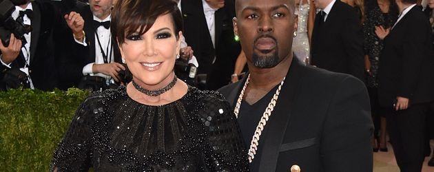 Kris Jenner und Corey Gamble bei der MET Gala