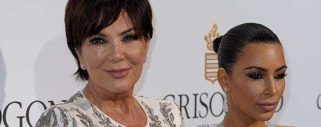 Kris Jenner und Kim Kardashian