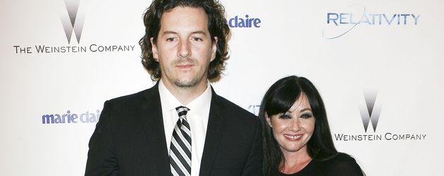Kurt Iswarienko und Shannen Doherty im Jahr 2011
