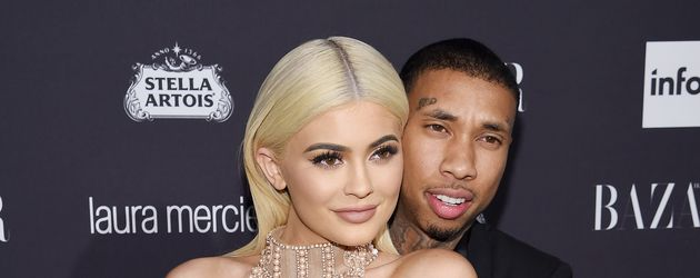Kylie Jenner und Tyga in New York 2016