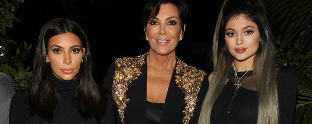 Kylie Jenner, Kim Kardashian und Kris Jenner