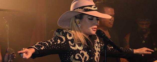 Lady GaGa bei einem Auftritt in Nashville im Oktober 2016