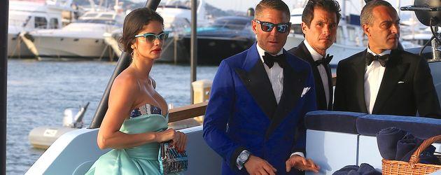 Lapo Elkann und Shermine Shahrivar bei der Foundation Party von L. DiCaprio in Saint-Tropez
