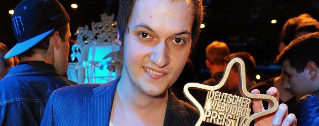 LeFloid beim Deutschen Webvideopreis 2014
