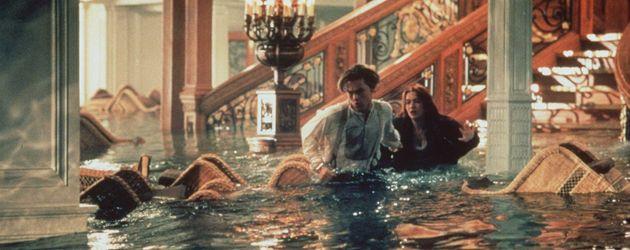 """Leo DiCaprio und Kate Winslet in """"Titanic"""""""