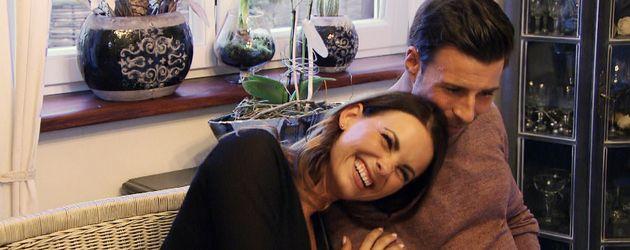 """Denise Temlitz und Leonard Freier beim """"Bachelor"""""""