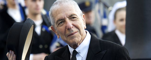 Sänger Leonard Cohen, 2011 in Spanien