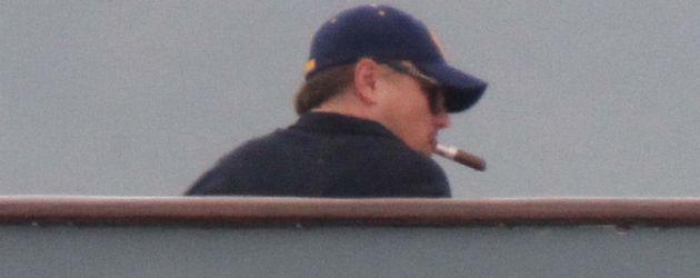 Leonardo DiCaprio mit Zigarre