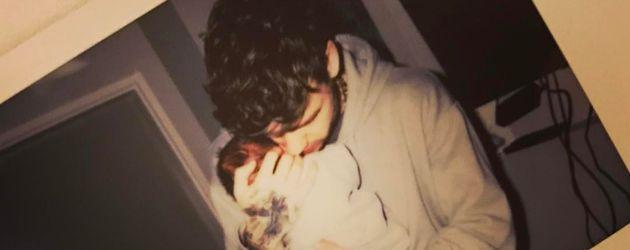 Liam Payne mit seinem neugeborenen Sohn Bear