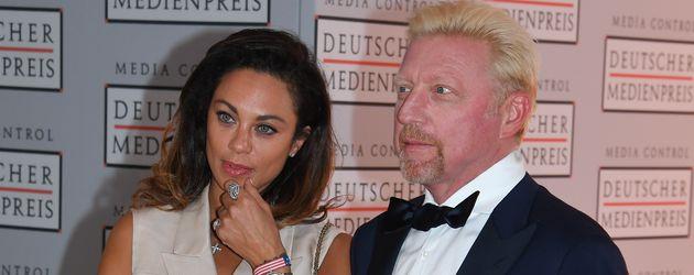 Lilly und Boris Becker beim Deutschen Medienpreis 2016 in Baden-Baden