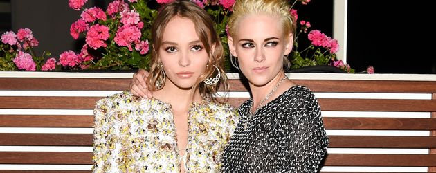 Lily-Rose Depp und Kristen Stewart in West Hollywood