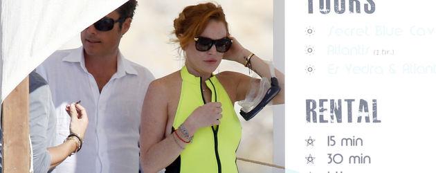 Lindsay Lohan: Busen-Show auf offener Strasse