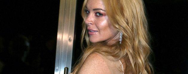 Lindsay Lohan bei der Eröffnung ihres Nightclubs in Athen