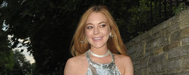 Lindsay Lohan bei Lilly Beckers 40. Geburtstag