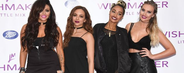 "Die Band ""Little Mix"" beim Launch ihres Parfums in Thurrock"