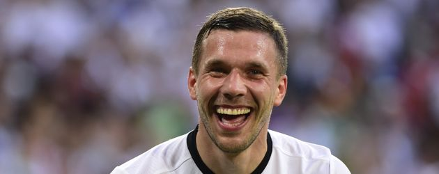 Lukas Podolski nach dem ersten Deutschland-Sieg bei der EM 2016