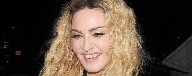 Madonna im Oktober 2016 auf dem Weg zu einer Halloween-Party in London
