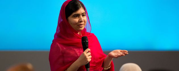 Malala Yousafzai beim First Focus Event on Education in London 2016