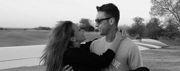 Mesut Özil und Mandy Capristo
