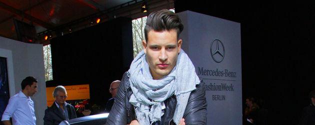 Marc Eggers post auf der Fashion Week