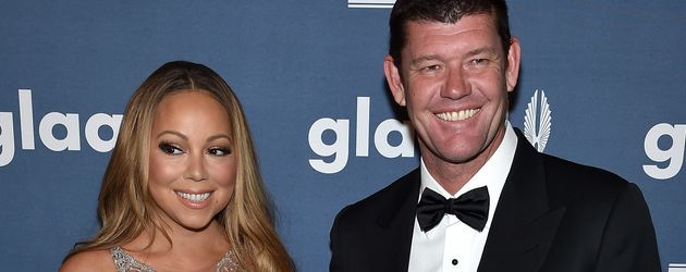 Mariah Carey mit James Packer