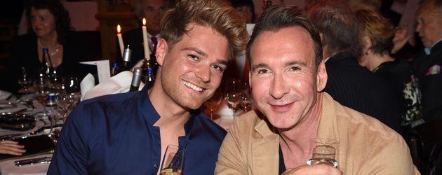 Matthias Pridöhl und Jochen Bendel bei der Teatro Summer Night's Premiere in München