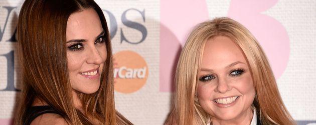 Melanie C. und Emma Bunton, ehemalige Spice Girls
