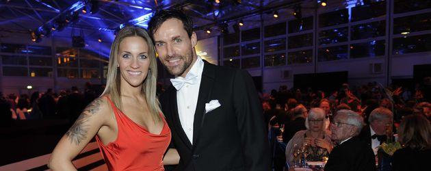 """Melissa Thiem und Sven Hannawald bei der """"German Sports Gala 2016"""""""