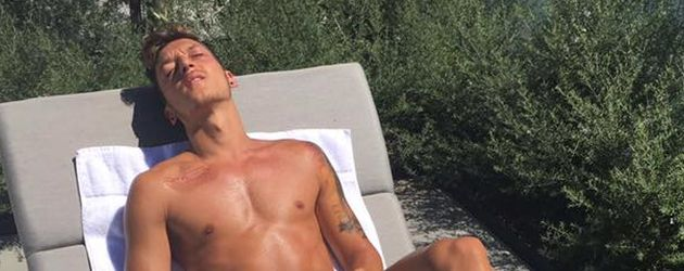 Fußball-Star Mesut Özil