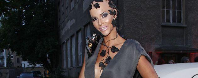 Micaela Schäfer bei einem Fashion Week Event