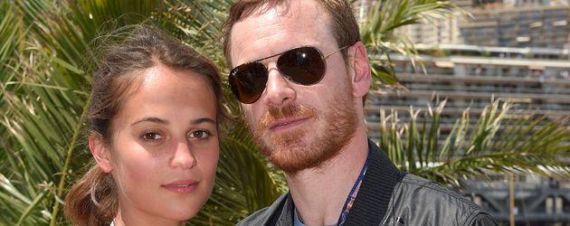 Alicia Vikander und Michael Fassbender