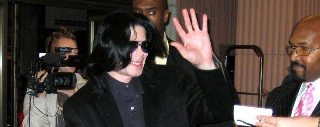 Michael Jackson mit Paris und Prince