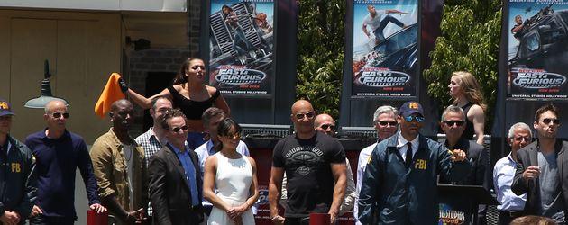Vin Diesel und Michelle Rodriguez