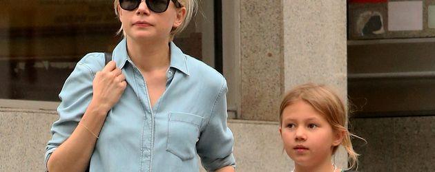 Michelle Williams mit Tochter Matilda Ledger 2013