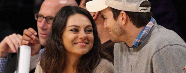Mila Kunis und Ashton Kutcher, seit Juli 2015 verheiratet