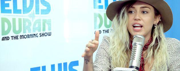 """Miley Cyrus bei der """"The Elvis Duran Z100 Morning Show"""" in New York"""