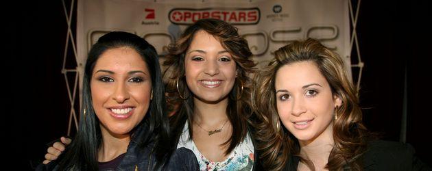 Monrose im Jahr 2006 bei Popstars