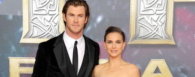Chris Hemsworth und Natalie Portman