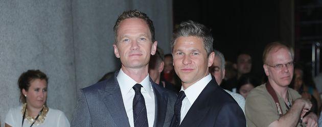 Neil Patrick Harris und David Burtka, Schauspieler und sein Ehemann