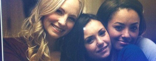 Nina Dobrev, Candice Accola und Kat Graham