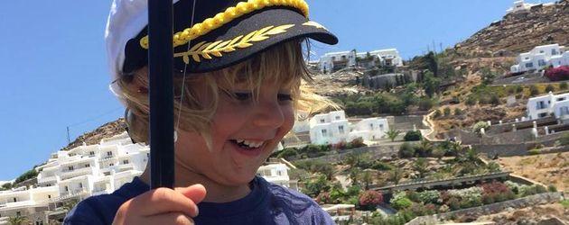 Noah Ambrosio Mazur auf Mykonos