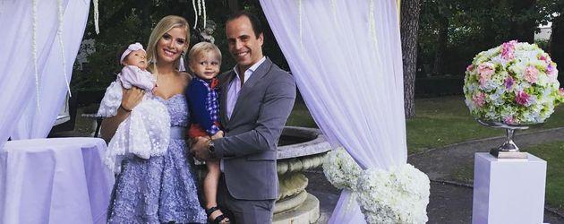 Oksana Kolenitchenko und ihre Familie