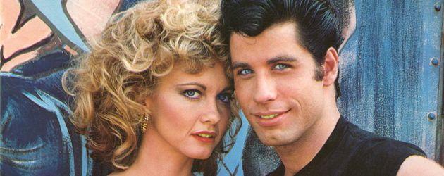 """Olivia Newton-John und John Travolta in """"Grease"""""""